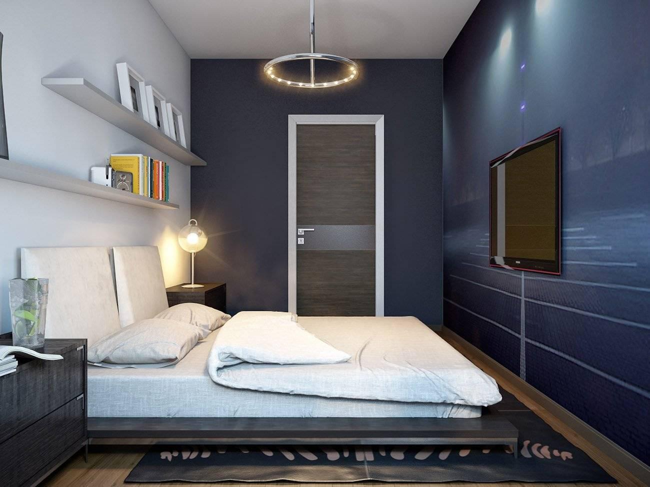Дизайн комнаты без окон