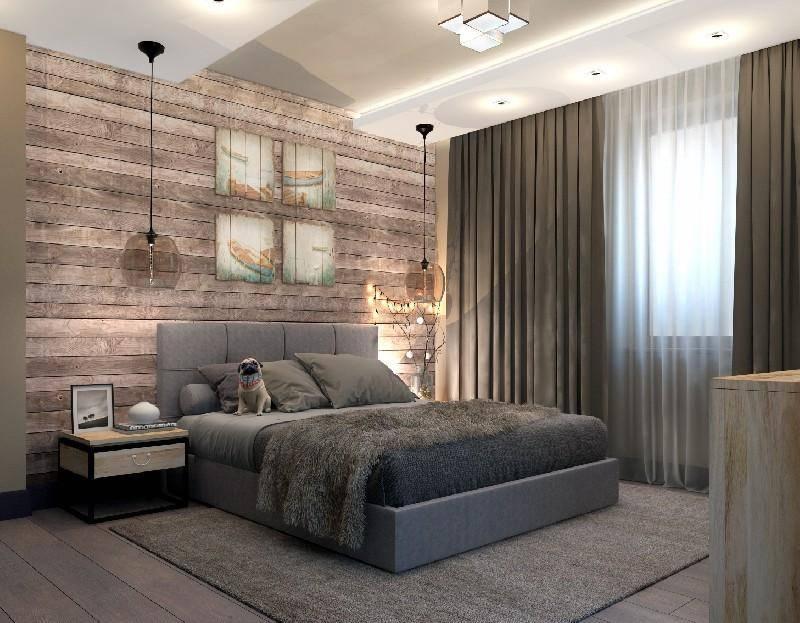 Спальня в стиле лофт: описание и идеи интерьеров