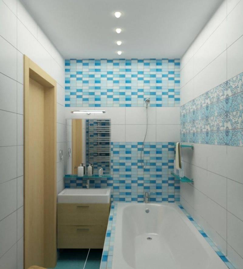 Интерьер маленькой ванной - дизайн ванной комнаты