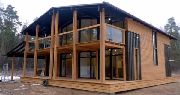 Дизайн частного дома снаружи: стили и выбор материала для отделки