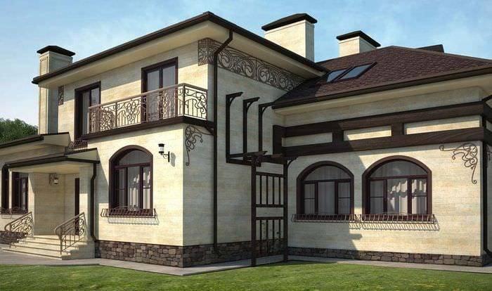 Фасадный декор (81 фото): лепнина для фасада, декоративные элементы из пенополистирола для архитектурных зданий