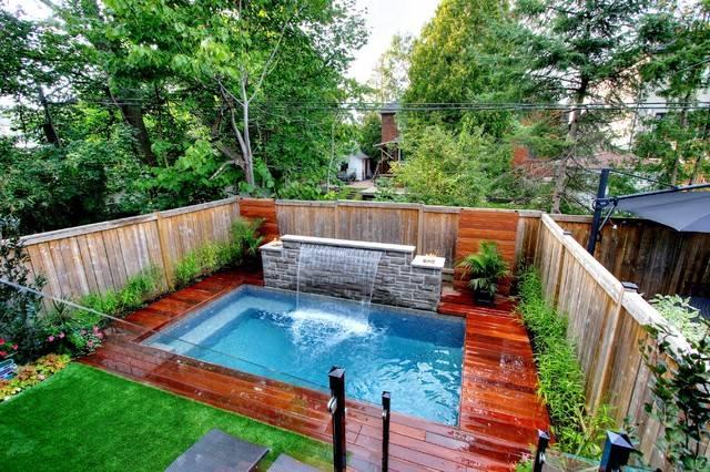 Как сделать самому бассейн для дачи: схемы сооружения, ландшафтный дизайн вокруг бассейна, фото