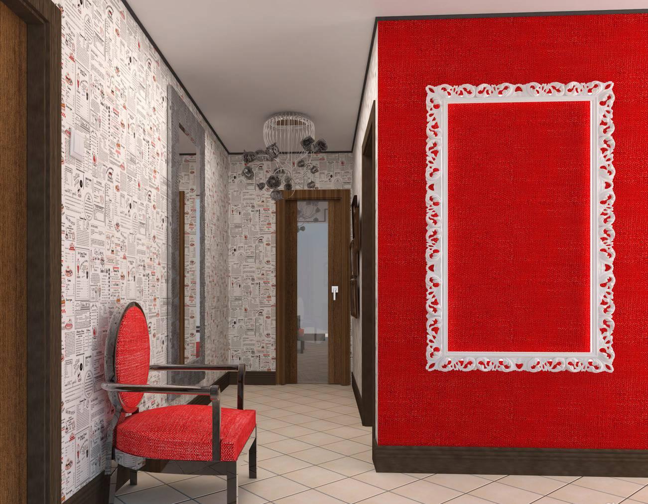 Обои для коридора, расширяющие пространство фото (51 фото): идеи для узкого длинного коридора в квартире или прихожей