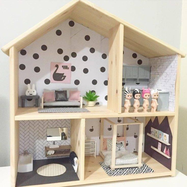 Кукольный домик для дочурки своими руками | страна мастеров