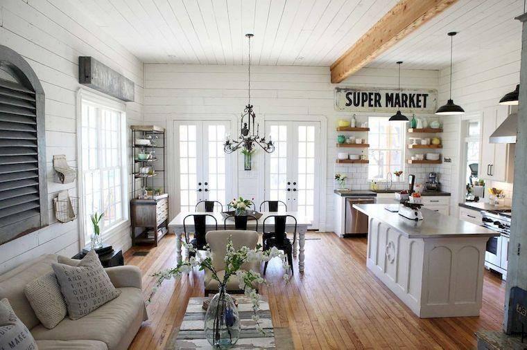 Кухни с круглым столом (67 фото): кухонные столы диаметром 80 см и других размеров, маленькие обеденные столы белого и черного цветов, полукруглые модели в интерьере кухни