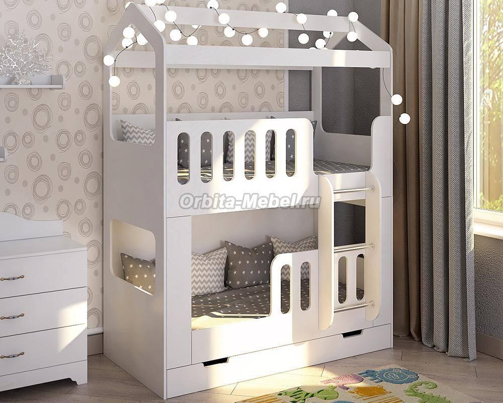 Двухъярусная кровать для детей: виды и правила выбора