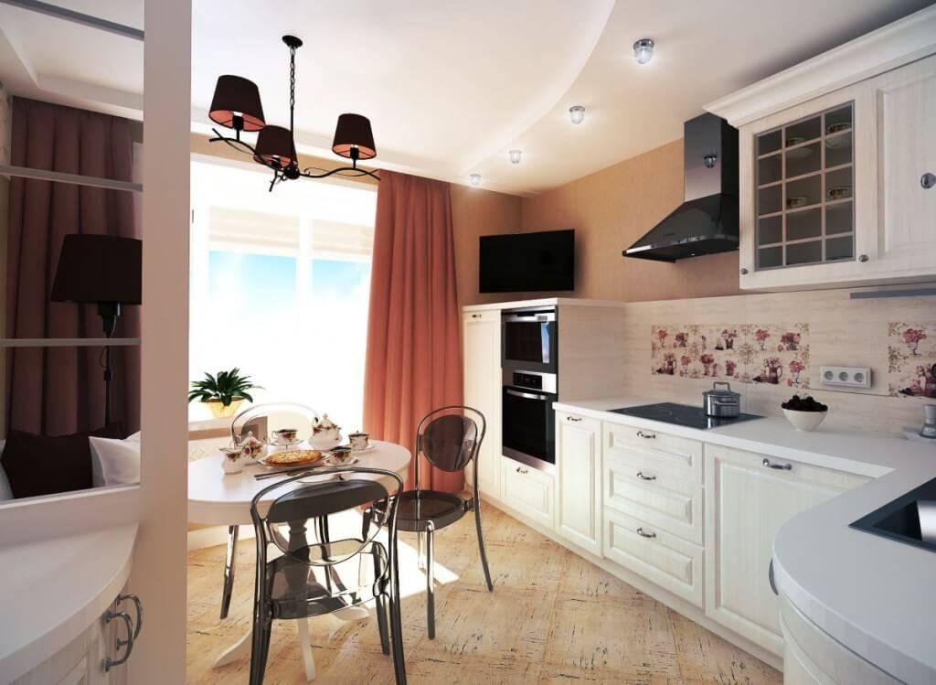 Кухня-гостинная 18 квадратов. советы по дизайну