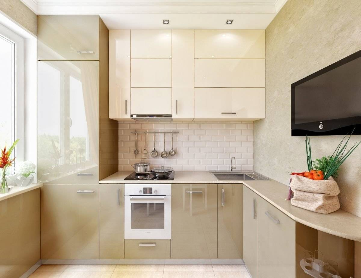 Дизайн кухни 6 кв метров, реальные фото
