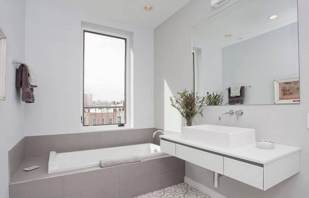 Каким должен быть дизайн ванной комнаты 5 кв. м.