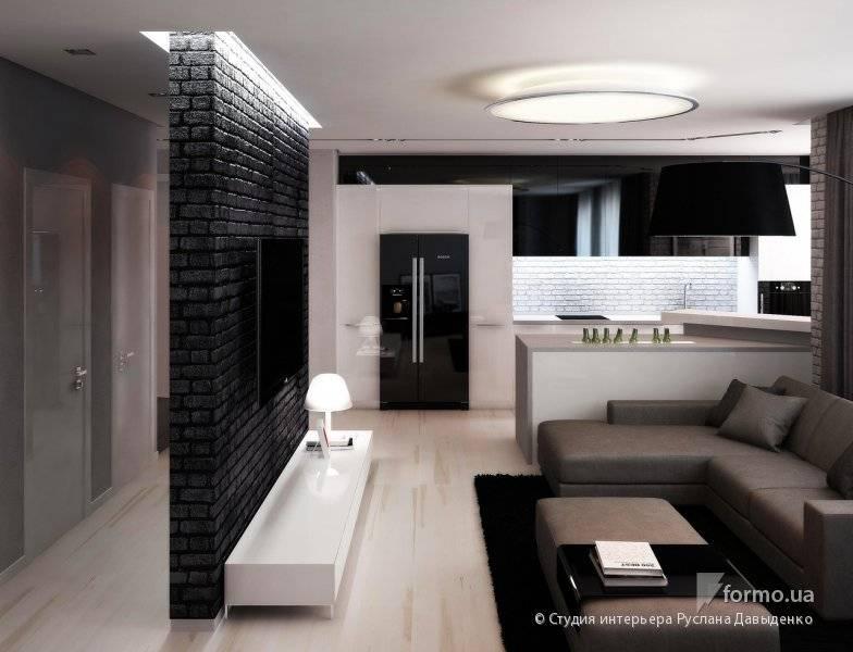 Как оформить квартиру-студию для холостяк