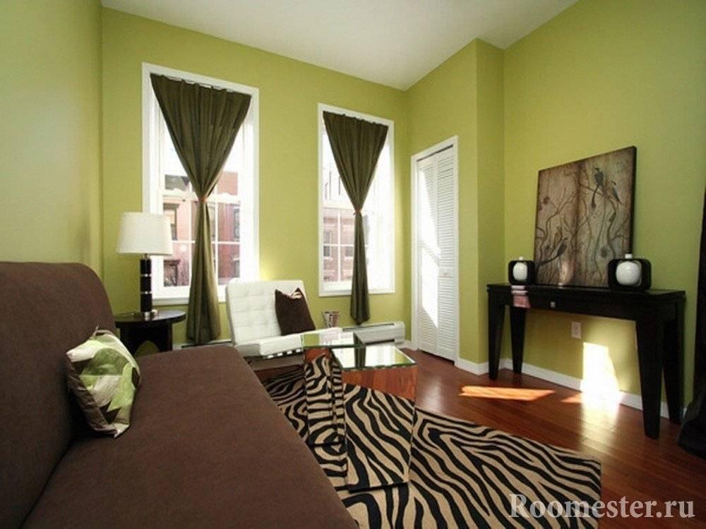 Фисташковый цвет в интерьере квартиры, кухни, спальни, фото