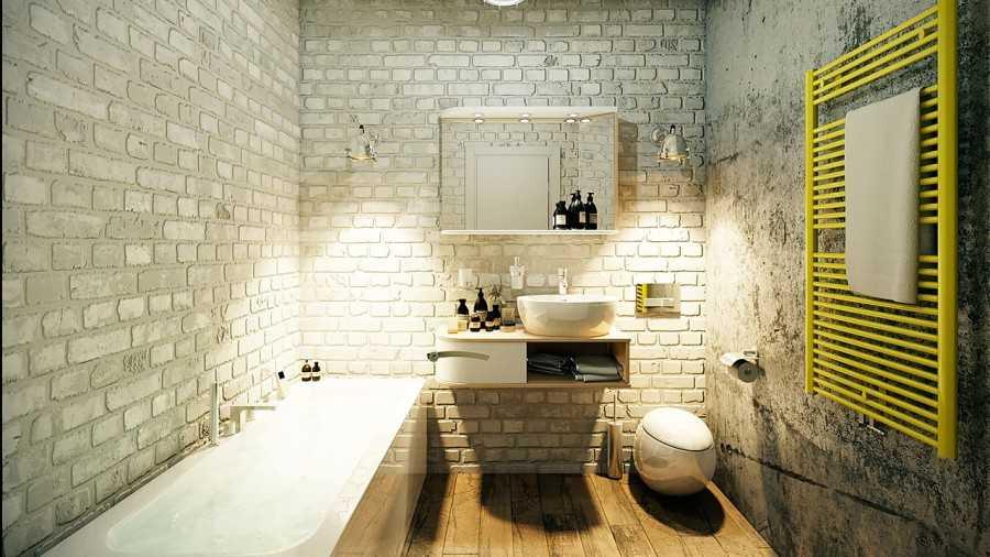 Интерьер ванной комнаты эконом-класса в современном стиле: фото и советы по оптимизации пространства