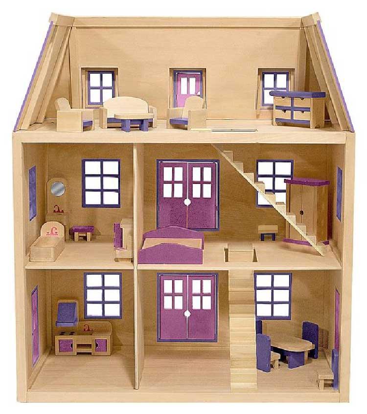 Кукольные домики своими руками из фанеры, коробки (56 фото): как сделать, деревянный из фанеры, схемы