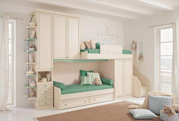 Мебель для подростковой комнаты, особенности расстановки