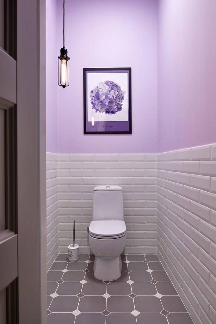 Правила оформления и дизайн плитки в маленькой ванной комнате
