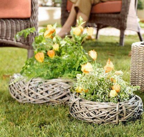 Садовый декор своими руками - 130 фото и рекомендации от профи!