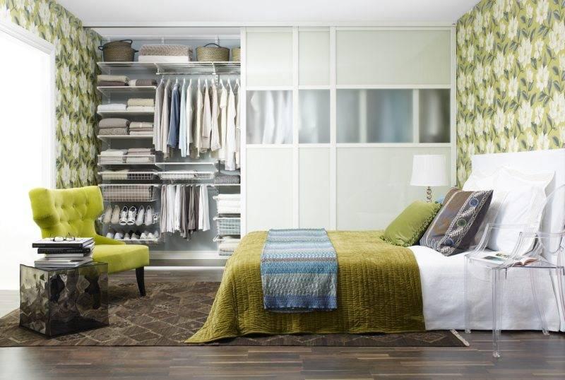 Гардеробная в спальне 2017 – 82 фото и идеи интерьера спальни | the architect