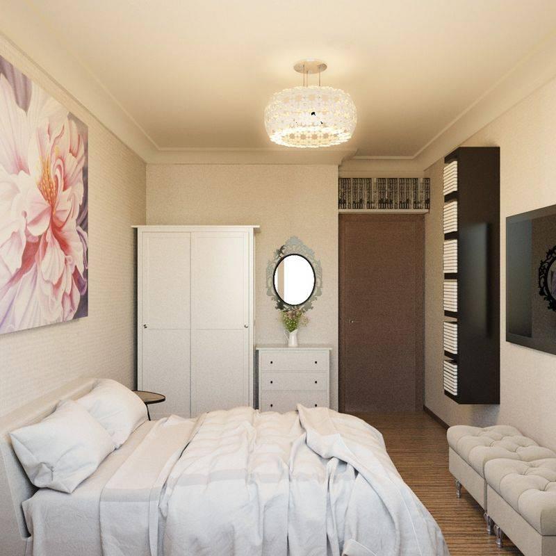 Дизайн спальной комнаты 3 на 3 квадратных метра