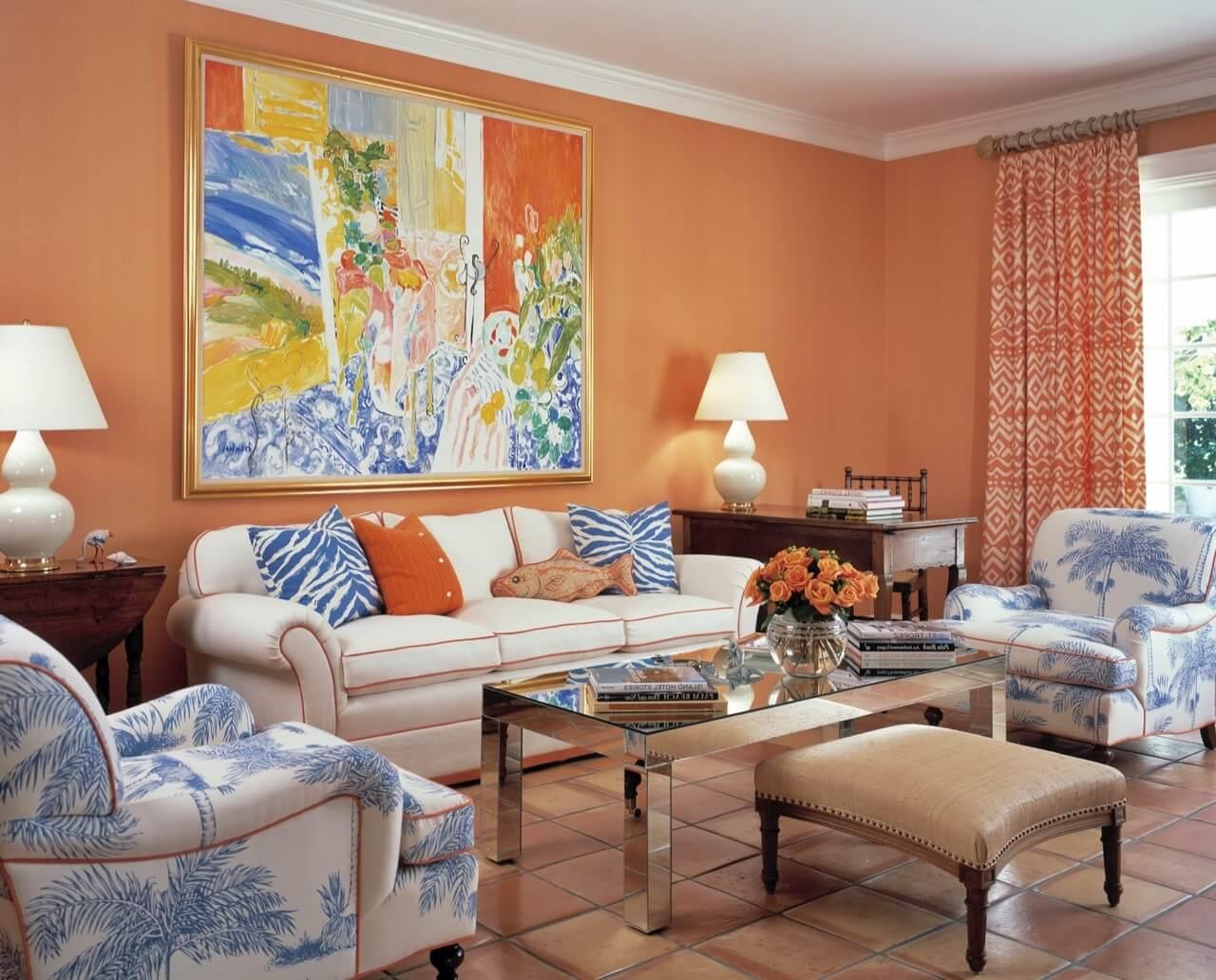 Персиковые шторы: 135 фото интересных проектов и красивых сочетаний персикового