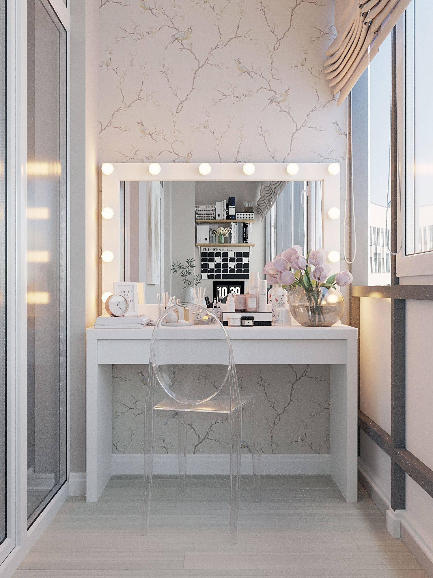 Туалетный столик для спальни - фото примеров