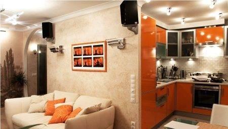 Кухня, совмещенная с залом: как лучше объединить (30 фото реальных интерьеров)