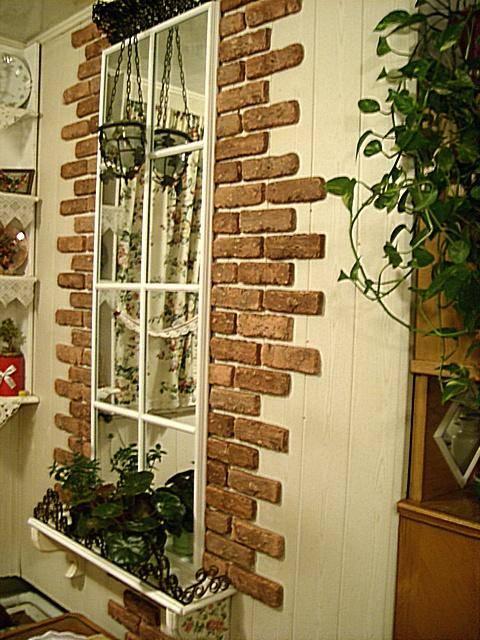 Декоративные окна, виды оконного декорирования, оформление своими руками