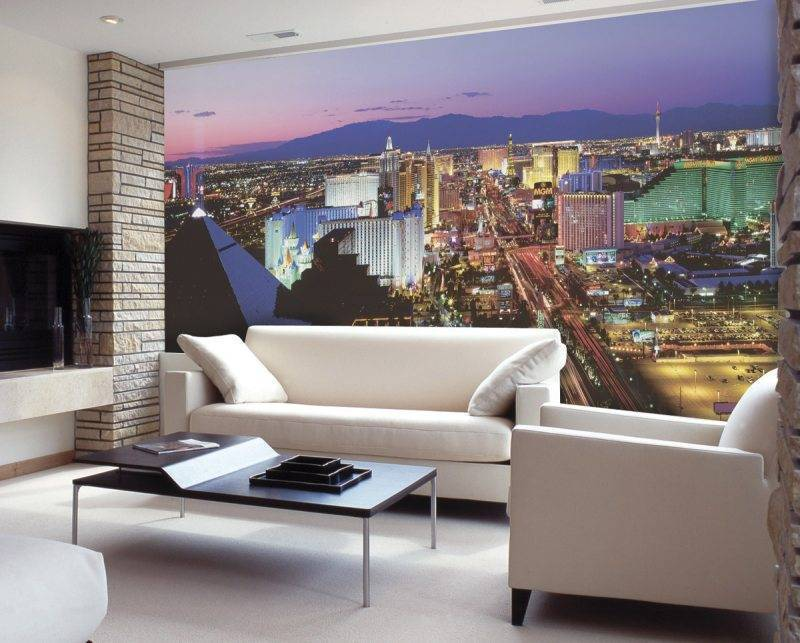 3d обои для зала: оживляем обстановку в интерьере квартиры