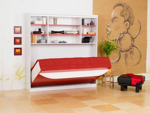 Шкаф-кровать (68 фото): откидная встроенная модель-трансформер, встраиваемая мебель
