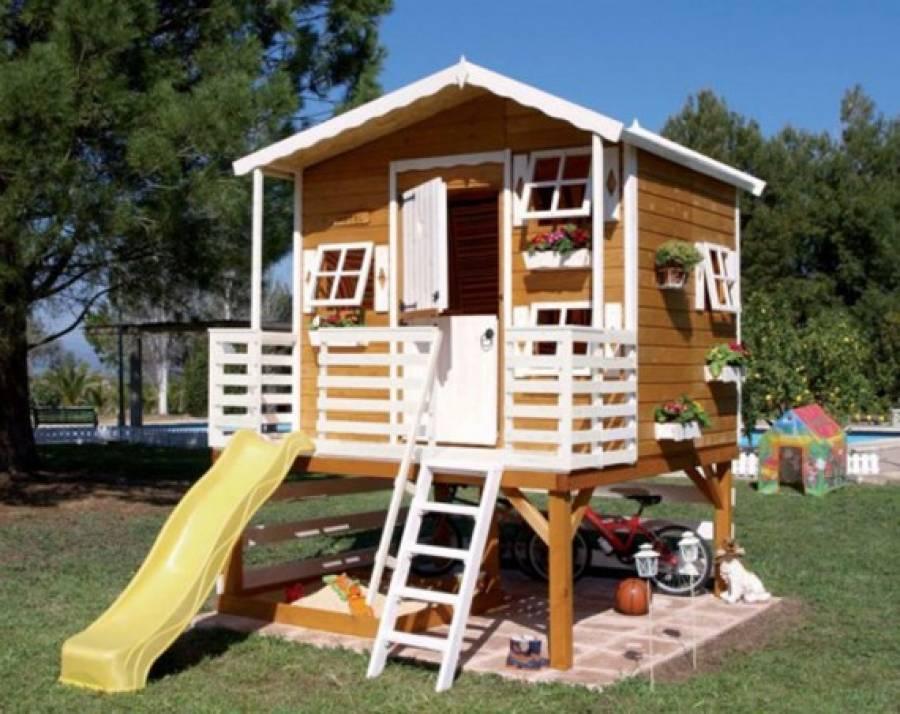 Детские домики из фанеры: инструкция по самостоятельной сборке