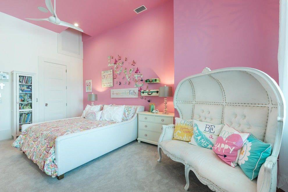 Комната для подростка девочки 12, 14, 16 лет