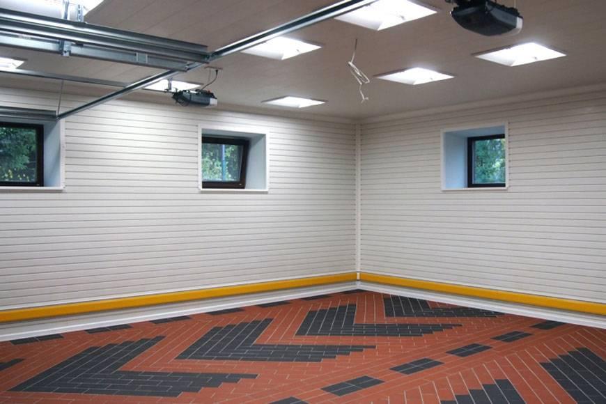 Отделка гаража (80 фото): внутреннее оформление стен своими руками