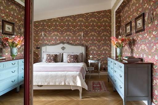Узкая спальня - 90 фото красивого ремонта и современного дизайна