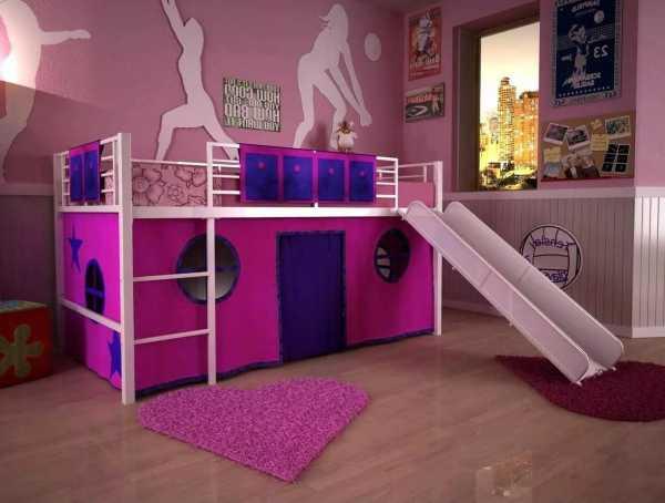 Детская комната с двухъярусной кроватью: особенности обустройства комнаты и выбора кровати