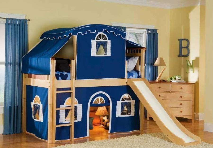 100 лучших идей: двухъярусные кровати для детей и малышей фото