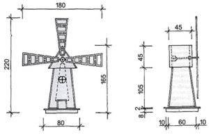 Мельница своими руками для сада (46 фото): детали конструкции и этапы сборки