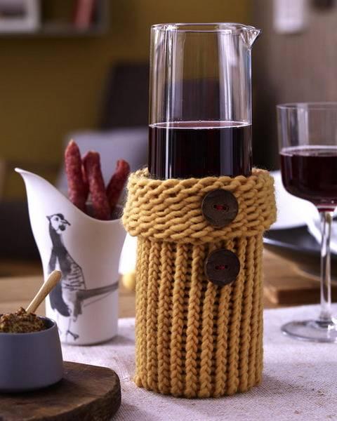 Модное вязание для дома, схемы, идеи, мастер - классы и видео уроки,  вязание для дома