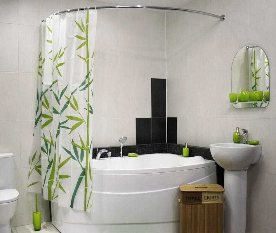 Занавеска для ванной - советы по выбору и установке. альтернативные варианты и советы по подбору дизайна занавески