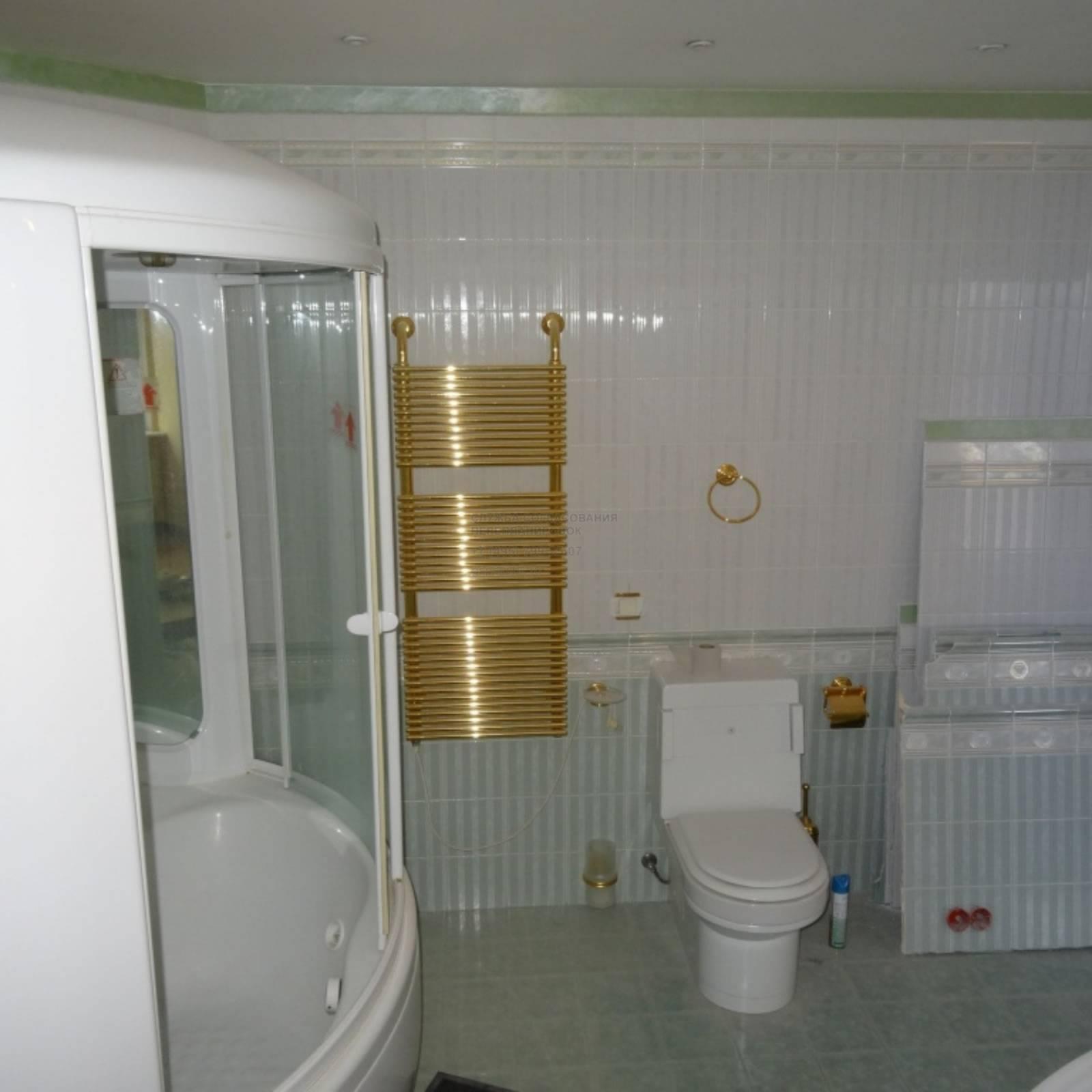 Изящный совместный санузел вместо стандартной ванной: как это реализовать