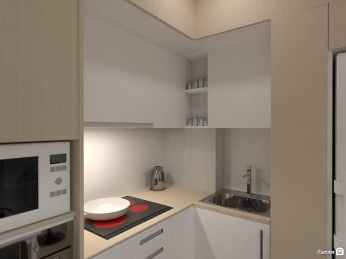 Дизайн маленькой кухни — идеи интерьера
