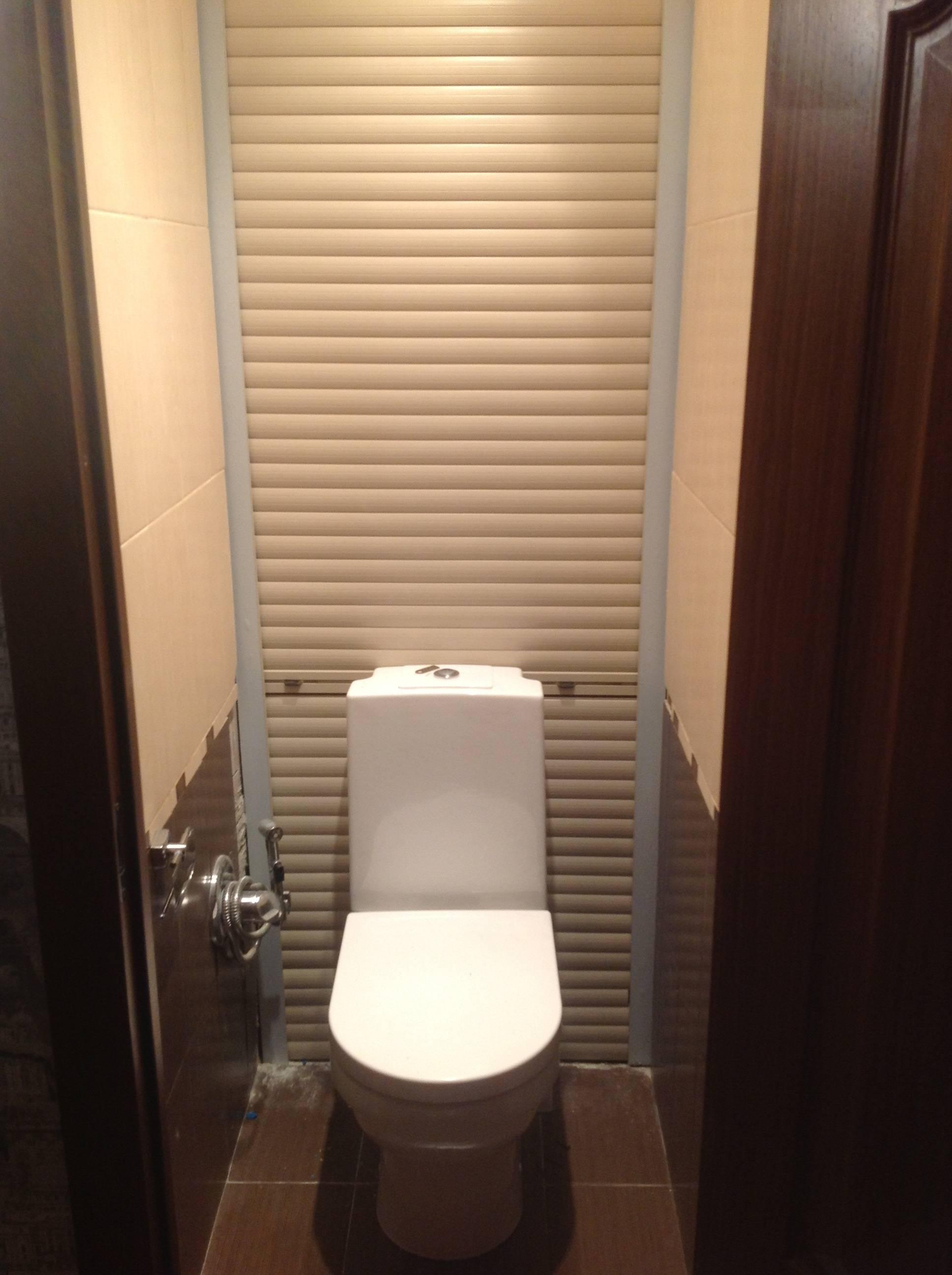 Сантехнические жалюзи в туалет - все о канализации