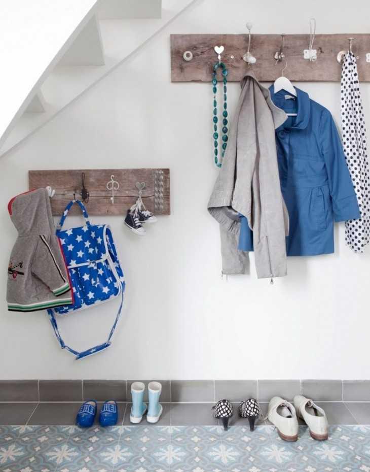 Вешалка для одежды своими руками: как сделать, чертежи, фото, напольные и настенные варианты