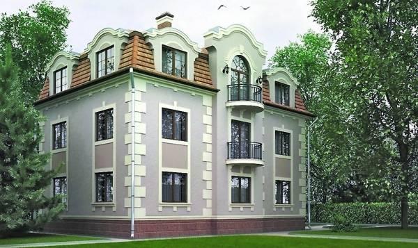 Разновидности фасадного декора для наружной отделки дома