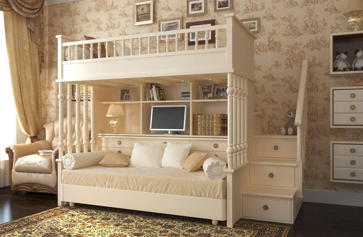 Детская мебель из дерева – особенности применения и советы по выбору лучших моделей (85 фото и видео)