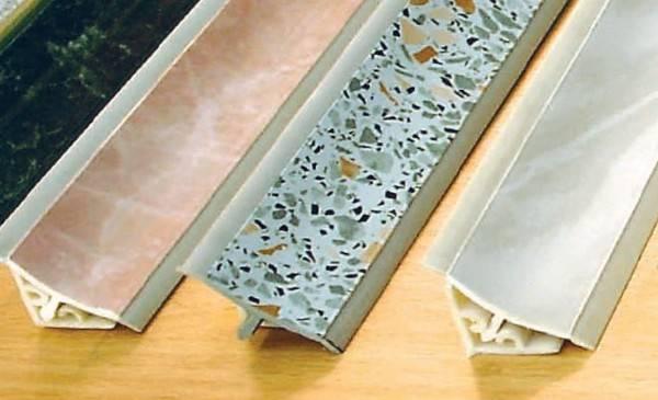 Алюминиевый плинтус для столешницы
