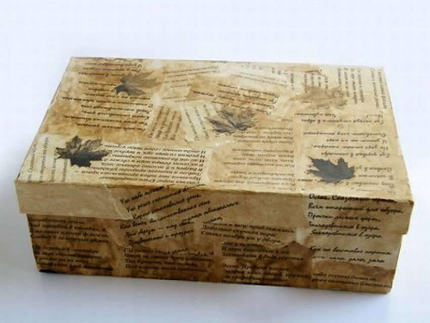 Декор коробки: как изготовить простой и красивый оригинальный декор из коробок (115 фото)