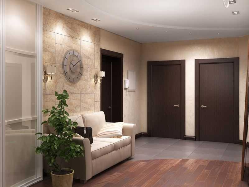 Как совместить плитку и ламинат - дизайн интерьера