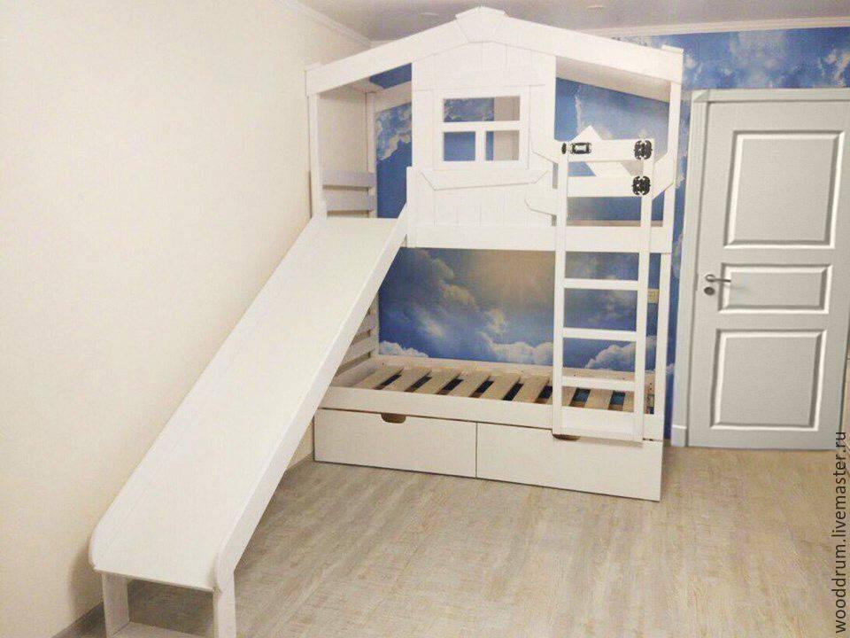 Детские двухъярусные кровати: 70 фото самых удобных и практичных идей