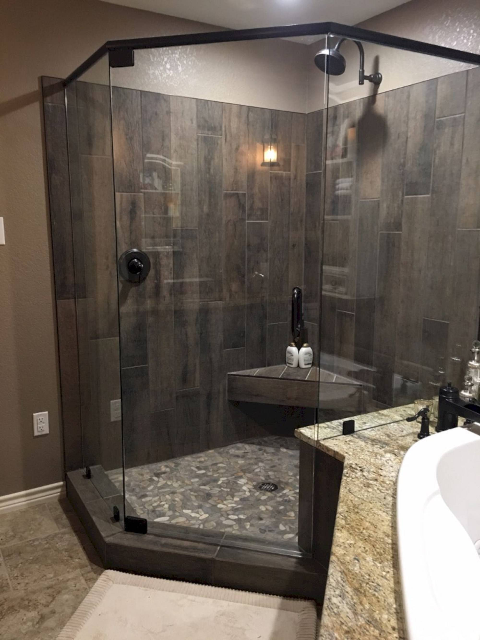Дизайн ванной комнаты с душевой кабиной: варианты оформления