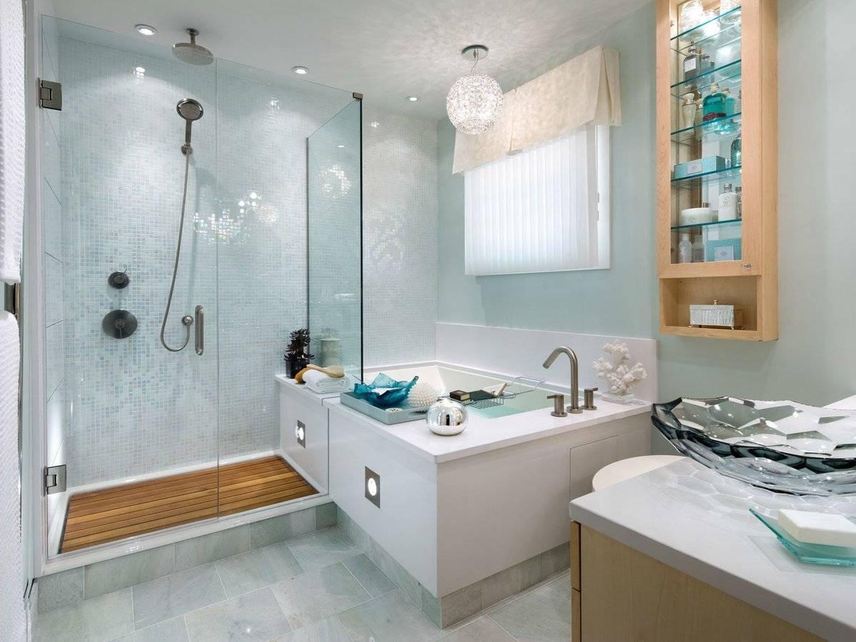 Дизайн ванной комнаты с угловой ванной (фото) – идеи интерьера и планировки