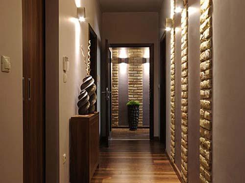 Длинный и узкий коридор: варианты дизайна